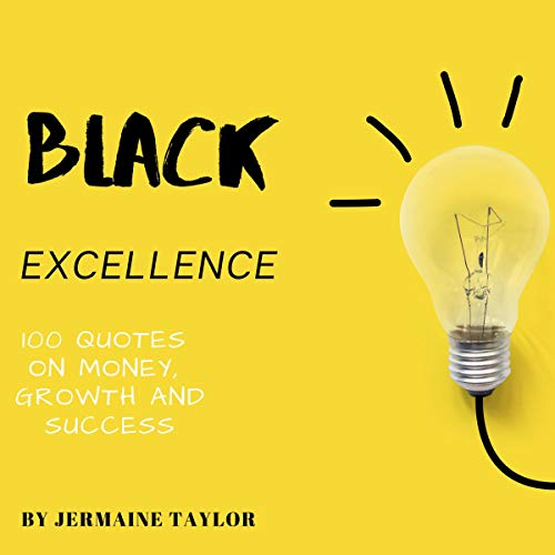 Black Excellence audiobook cover art