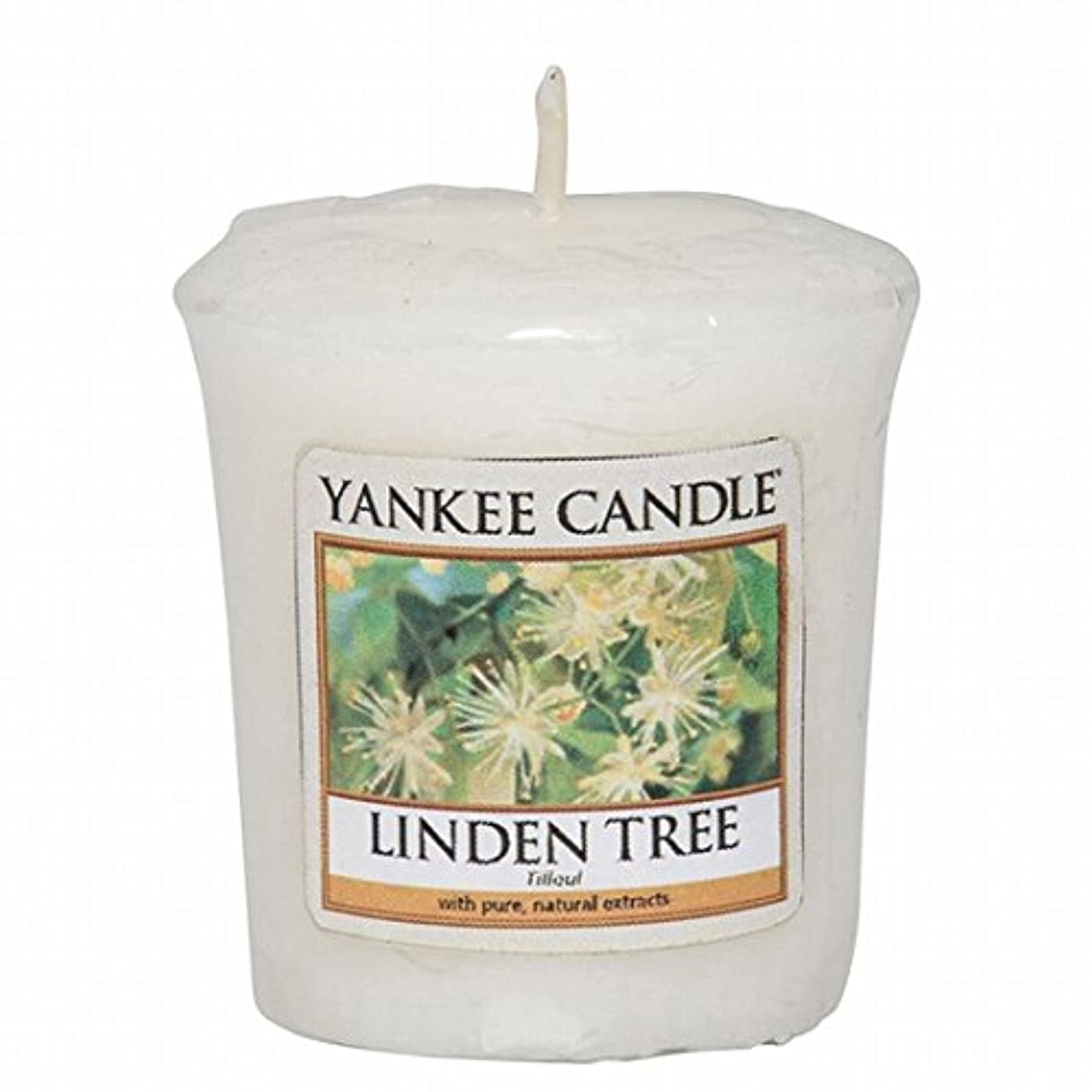 同僚サスペンドドリルヤンキーキャンドル(YANKEE CANDLE) YANKEE CANDLE サンプラー 「リンデンツリー」