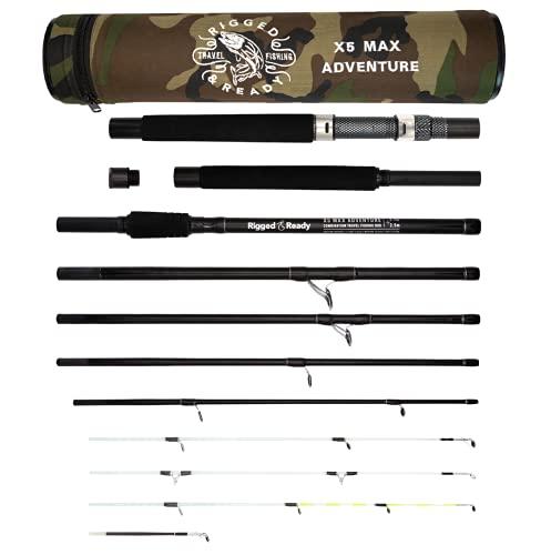 X5 MAX Travel Fishing Rod. 9 Rod Combinations-1 Fishing Rod. 2.75m 2.50m...