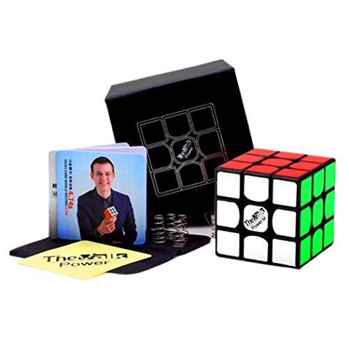 Ludokubo  Cube 3x3 VALK 3 Power M Magnetic   Negro