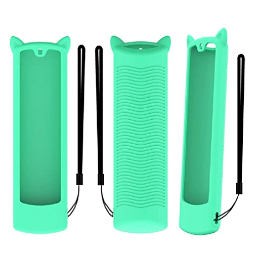 Ydh Silicone Case for Alexa Voice Remote 3 Gen 2021 Accessories Protective Skin Holder, Protective Sleeve Remote Control Cover, Washable