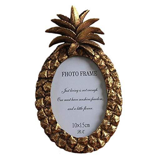 Aisoway Ananas-Form-Foto-Rahmen-Creative-bilderrahmen Für Fotografie-Office Home Decor 6 Inch