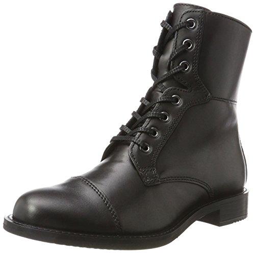 Ecco Damen SHAPE 25 Combat Boots, Schwarz (Black 1001), 39 EU