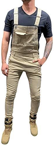 Uomo Tratto Jeans Salopette Pantaloni Jeans Lunghezza Misura di Sottile Base Moda Vivere per I Pantaloni degli Uomini Denim Tuta Uomo Borse Jeans Globale Tuta Streetwear Tuta Pantaloncini