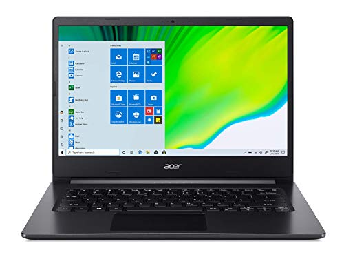 Acer Aspire 3 A314-22-R14R Ordinateur Portable 14' FHD Noir (AMD Ryzen 3, 8 Go de RAM, 256Go SSD, AMD Radeon Graphics, Windows 10S) - Clavier AZERTY (français)