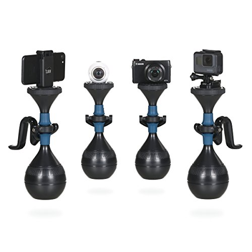 solidLUUV Video Stabilizer für Actioncams, Smartphones, Kompaktkameras und 360 Grad Kameras