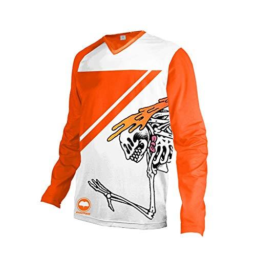 Uglyfrog Hip Hop Elemento Especial Estilo Racingwears Manga Corta/Larga Downhill Jersey DH/Am/XC/FR/MTB/BMX/Moto/Enduro/Offroad Ropa Maillot Ciclismo ES19HSJF05