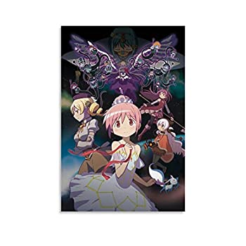 Anime Puella Magi Madoka Magica Poster Decorative Painting Canvas Wall Art Living Room Posters Bedroom Painting 08x12inch 20x30cm
