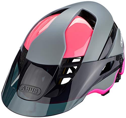 ABUS MonTrailer ACE MIPS Mountainbike-Helm - Robuster Fahrradhelm für den Geländeeinsatz - für Damen und Herren - mit Kamerahalterung - 81682 - Pink/Grau, Größe M
