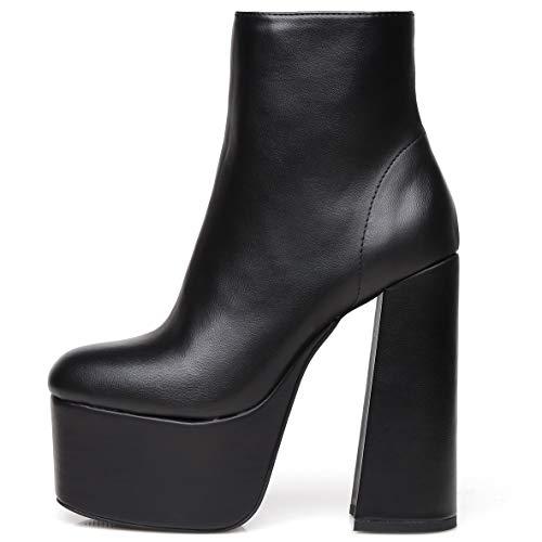 GIARO Premium Stiefeletten für Damen -Elegante High-Heels mit hohem Absatz - Damenstiefel - Stöckelschuhe für Frauen
