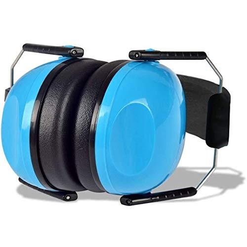 Geluiddichte oorkappen Oorverdedigers Kinderen, Opvouwbare Verstelbare gehoorbescherming Geluidsonderdrukking Blauwe Oor Muffs Voor Kinderen Baby (6 Maanden Tot 14 Jaar Oud)