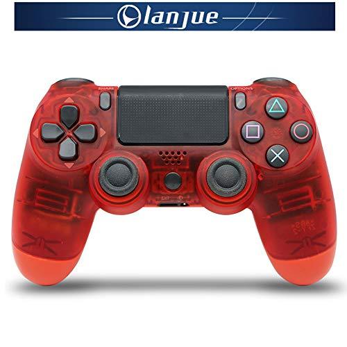Manette de jeu sans fil PS4 4.0 avec lumières Manette Bluetooth sans fil PS4