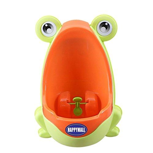happymall Loverly Grenouille bébé WC d'entraînement enfants Pot urinoir pipi urine pour garçons avec Funny Visez Cible