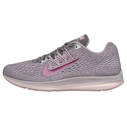 Nike Women's Air Zoom Winflo 5 Running Shoe (11 M US, Gunsmoke/True Berry)