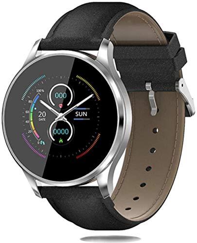JSL Reloj inteligente para hombre y mujer, 3D UI Bluetooth, reloj inteligente para deportes al aire libre, fitness, esfigmomanómetro