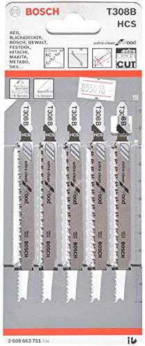 Bosch Professional 2 608 663 751 hojas de sierra de calar, Gris,...