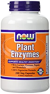 NOW Plant Enzymes,240 Capsules