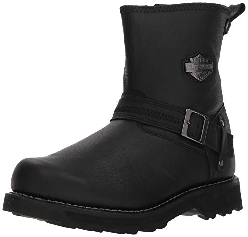 Harley-Davidson Men's Richton 8-inch Black Leather Motorcycle Boots D93511