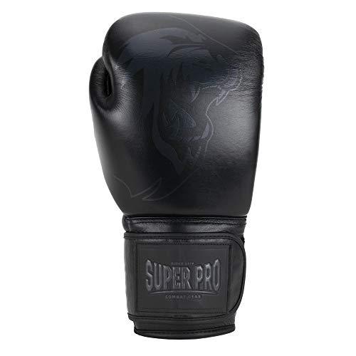 Super Pro Unisex– Erwachsene Legend Boxhandschuhe, Schwarz, 12 oz