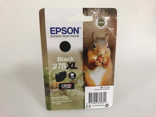 Epson - Cartuchos de tinta para Epson Expression Photo XP-8500 XP-8505 Expression Photo HD XP-15000 (negro)