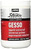 Unbekannt Pébéo - Studio Acrylics Gesso 1 litro - Gesso Bianco - Sottofondo Colori acrilici per...