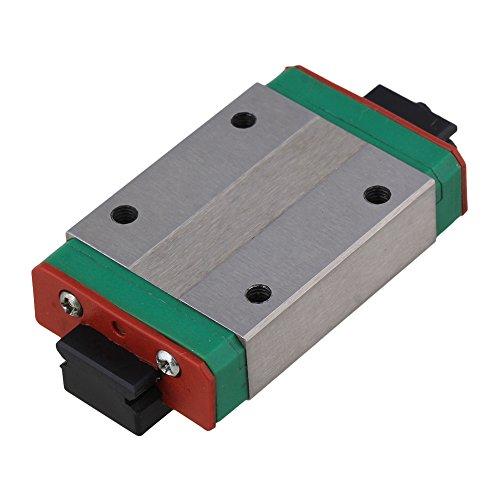 BQLZR Mini Verlängerung Linear Führungsschiene Gleitblock für lineare Schiebevorrichtung Präzisionsmessgeräte, schwarz, BQLZRN28587