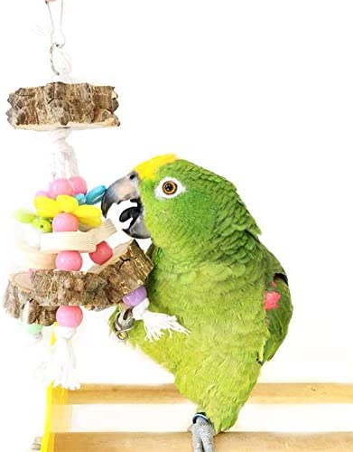 Natural Peppercorn Wood Bite Parrot Cotton Rope Wooden Popular Chewing S Discount mail order