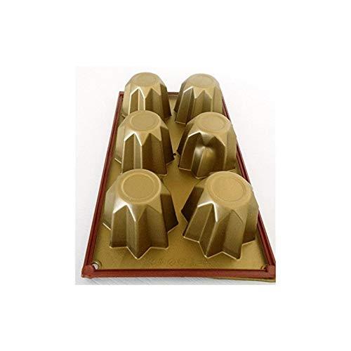 Fimel-SF100,molde de silicona para 6mini-pandoros, 75x 75x H 60mm
