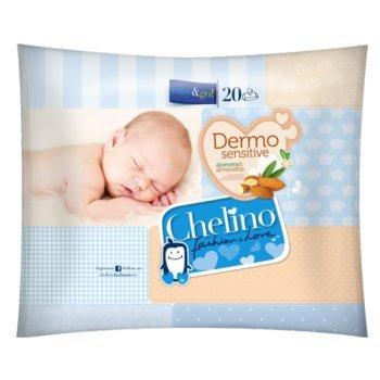 Toallitas Dermo Sensitive Chelino Easy & Go (20 uds)