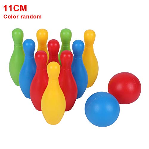 19cm Set Gioco Skittles /& Carry Rack Bambini Famiglia Giardino Esterno Gioco Bowling