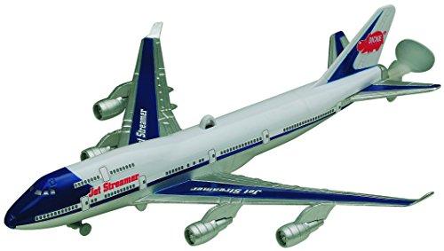 Dickie Toys 203343004 - Jet Streamer, batteriebetriebener Deckenflieger, 25 cm