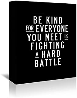 Americanflat 'Be Kind for Everyone You Meet' Gallery Wrapped Canvas Artwork by Brett Wilson, 32