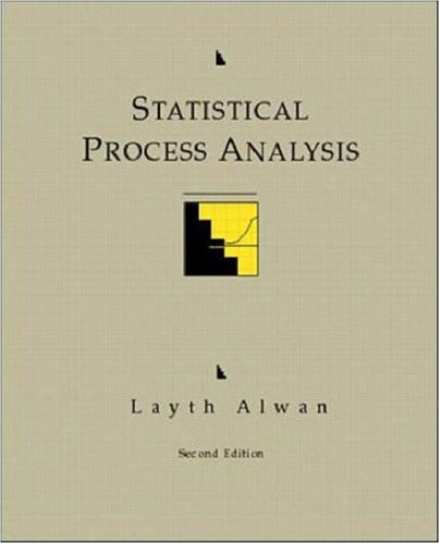 Download Statistical Process Analysis (Irwin/McGraw-Hill Series in Operations and Decision Sciences) 0256119392