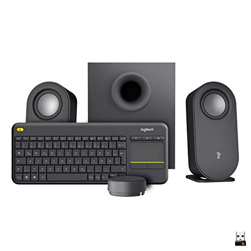 Logitech K400 Plus Touch Wireless Bild
