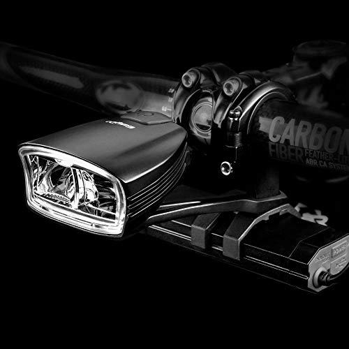letaowl Fahrradlicht Fahrrad Kopf Front LED Licht Smart Induktion Mark USB 10w Lampe Led 4400mah Power Bank für Outdoor-Radsport
