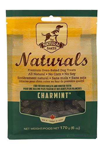 Natural Baker Naturals Charmint Dog Treats, Charcoal, 6 oz