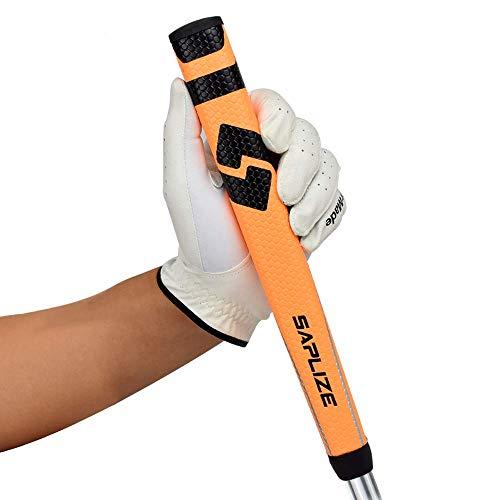 SAPLIZE Putter Grip Midsize Pistol Shape Lightweight Non-Slip Golf Grip Length 10.6' Weight 60g