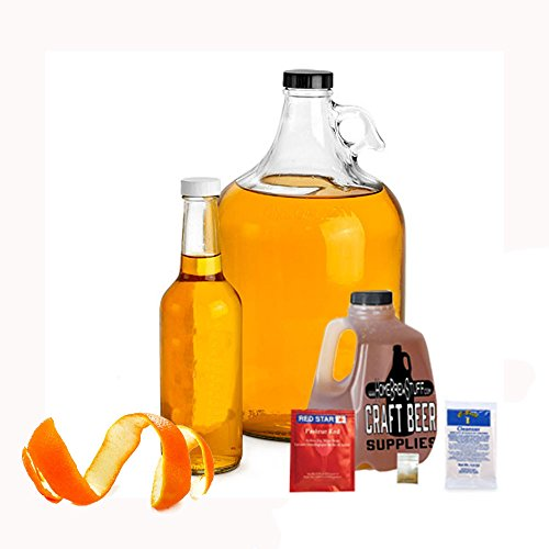 HomeBrewStuff Basic 1 Gallon Nano-Meadery Orange and Honey Mead Recipe Refill Kit