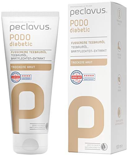 Peclavus PODOdiabetic Fußcreme Teebaumöl 100 ml