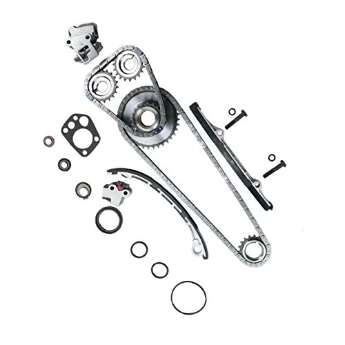 Timing Chain Kit for 98-04 for NISSAN Frontier & for NISSAN Xterra & for NISSAN Altima 2.4 L4 DOHC 16V KA24DE #9-4180SA