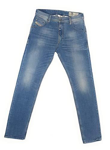 Diesel Herren Jeans Hose Krayver Regular Slim-Carrot Mens Jeanshose 00S5A3 R8FG4 Stretch (W30/L30)