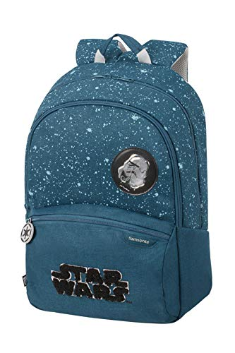 Samsonite Color Funtime Disney - Rucksack L, 42 cm, 24 L, blau (Star Wars Intergalactic)
