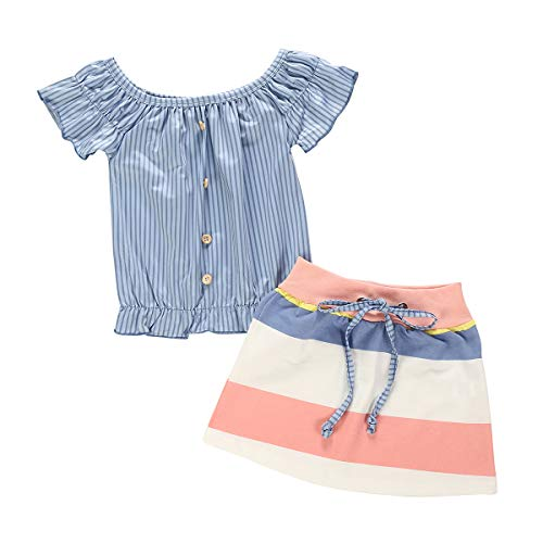 Kids Baby Girl Skirts Outfit Set