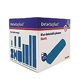 Detectaplast Pflaster wasserfest Elastic, blaue Wundpflaster für den Umgang mit Lebensmitteln, detektierbare Pflaster für Erste Hilfe Sets in der Gastronomie, 19 x 72 mm, 100 Stück