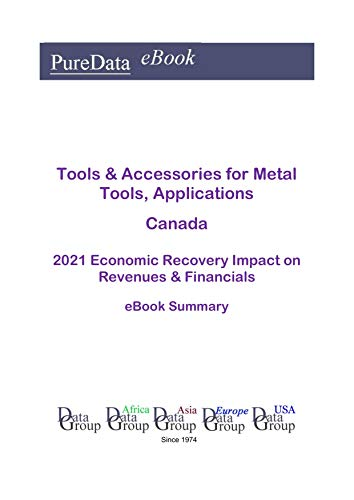 Tools & Accessories for Metal Tools, Applications Canada Summary: 2021 Economic Recovery...