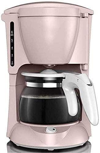 FAGavin Máquina De Café, Máquina Portátil De Oficina Multifuncional Máquina Automática De Tipos De Goteo Automático, Tetera del Sistema Anti-Goteo (Color: Rosa)