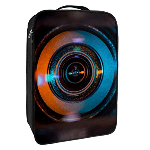 Schuh-Aufbewahrungsbox für Reisen und den täglichen Gebrauch, für Videokamera, Objektiv, Schuhtasche, Organizer, tragbar, wasserdicht bis zu 12 m, mit doppeltem Reißverschluss und 4 Taschen