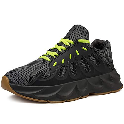Dilnot Zapatillas para Hombre Aptitud Ligero Deportes Zapatos para Correr Zapatillas