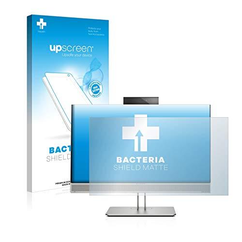 upscreen Protector de Pantalla Mate Compatible con HP EliteOne 800 G5 Película Protectora Antibacteriana - Anti-Reflejos, Anti-Huella