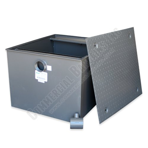 Commercial Grade 200lb Grease Trap 100 GPM Wentworth WP-GT-100